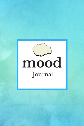Mood Journal: Blue Water Colors: Monitor your mood, medication, anxiety levels & depression levels | Keep Healthy & on Track | Emotion Diary | 12 months Journal | 6 x 9