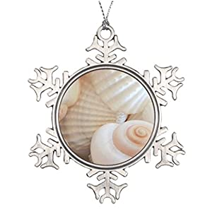 414pOud6RoL._SS300_ 100+ Best Seashell Christmas Ornaments