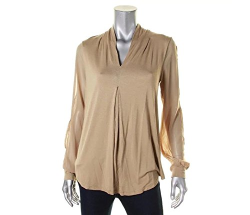 Cable & Gauge Long Sleeve Blouse (Womens Gauge Cable &)