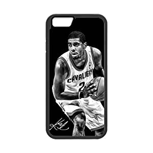 Onshop Custom Black and White Kyrie Irving Phone Case Laser Technology for iPhone 6 4.7 Inch