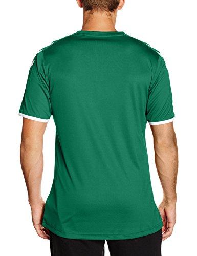 Homme Maillot Sleeve Short Core Trikot Jersey Poly Foncé Vert Hummel wROBAx00
