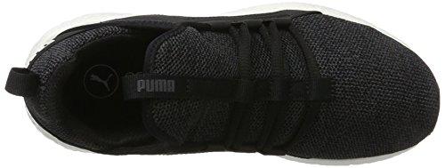 Exterior Black Deporte de asphalt Mujer Nrgy para para Puma Negro Zapatillas Mega Knit nqpHPpw0O