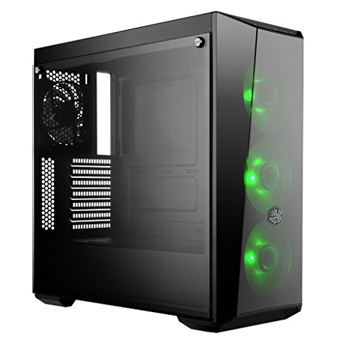 Cooler Master MasterBox Lite 5 RGB ATX Mid-Tower with 3 RGB Fans Tempered Glass Side Panel & External Cases (MCW-L5S3-KGNN-02) Photo #3