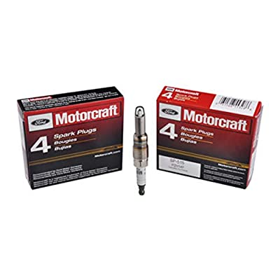 Spark Plugs for Ford F150 5.4L - Set of 8 Motorcraft Platinum Alloy SP515-SP546 HT15 Spark Plugs(as shown): Home Improvement