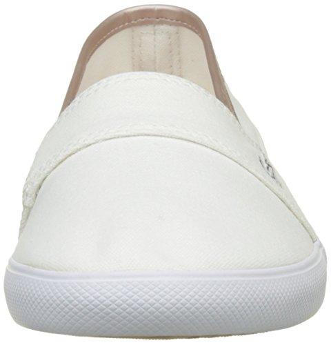 Lacoste blanc 217 Blanco Marice Mujer Alpargatas Para 2 qwFA6Cw8