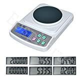 Eosphorus 500g/0.01g Portable Electronic Scale with