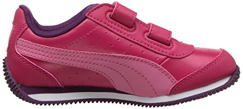 PUMA Baby Speed Lightup Power V Kids Sneaker, Love Potion-Rapture Rose, 5 M US Toddler by PUMA (Image #7)
