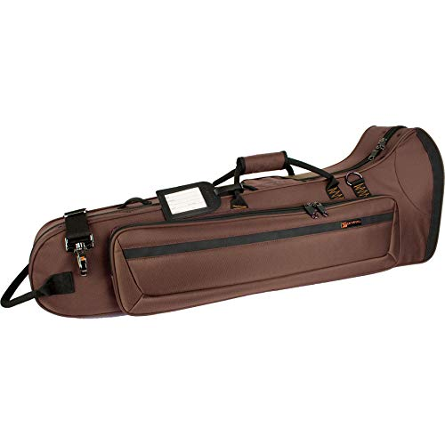 Protec Tenor Trombone Contoured PRO PAC Case - Chocolate, Model PB306CTCH (Pro Gig Bag Tech)