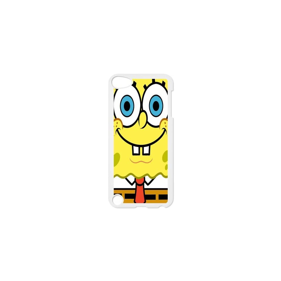 Personalized Music Case SpongeBob SquarePants iPod Touch 5th Case Durable Plastic Hard Case for Ipod Touch 5th Generation IT5SS167