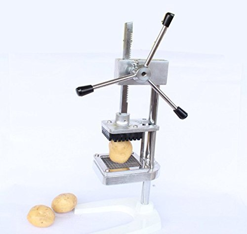 JIAWANSHUN manual press Stainless steel fries potato cutters shredded apple Tools handly manual cutting machine with three blades