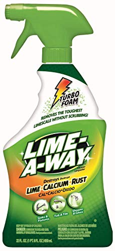 Lime-A-Way Bathroom Cleaner, Removes Lime Calcium Rust 22 oz (Pack of 2)