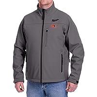 Milwaukee Extra-Large M12 12-Volt Lithium-Ion Cordless Heated Jacket Kit (Gray)