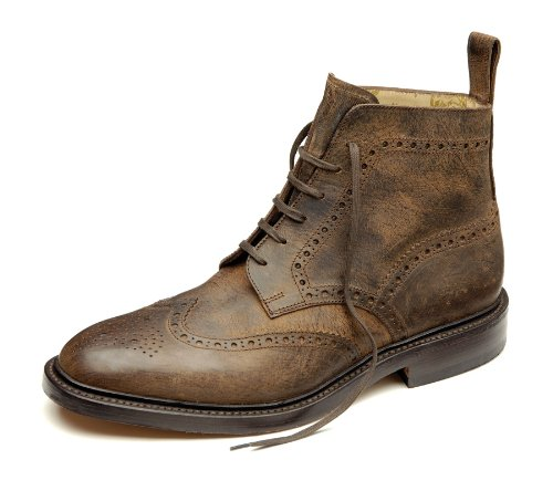mens-loake-lace-up-ankle-boots-banks-brown-leather-size-12g