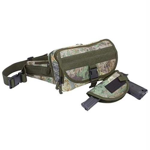 ExtremePak LUWBGNTC Extreme Pak Tree Camo Tactical Concealed Carry Waist Bag
