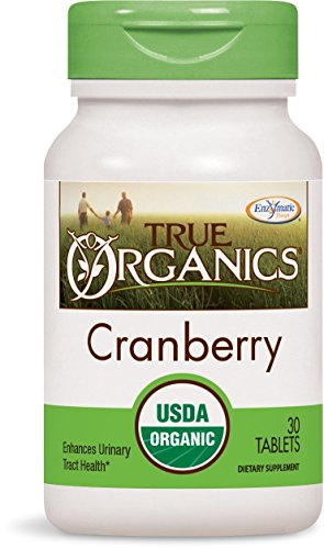 Enzymatic Therapy -  True Organics Cranberry 30 Tablets