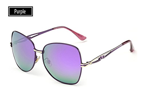 Mujeres Gafas Verano TL Sunglasses de Mujeres de Sombra purple UV400 Sol de Gafas Sol de Rosa Gafas para polarizadas Gafas Hombre 8qtqnFrwT