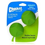 Canine Hardware Chuckit Erratic Ball Chuckit Erratic Ball 2-Pack Md Toys, My Pet Supplies