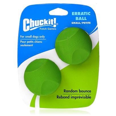 Canine Hardware Chuckit Erratic Ball Chuckit Erratic Ball 2-Pack Md Toys, My Pet Supplies