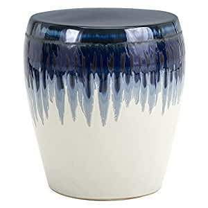 Azul Ceramic Garden Stool