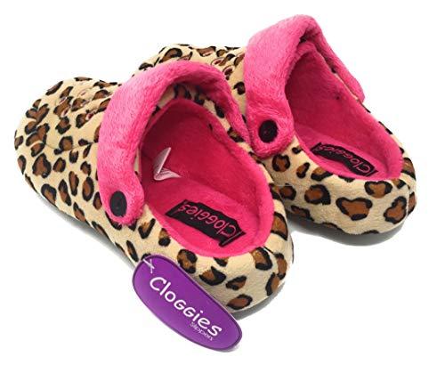 Leopardo Multicolor Pour Multicolore Brandwell Femme Chaussons wX1g1q8