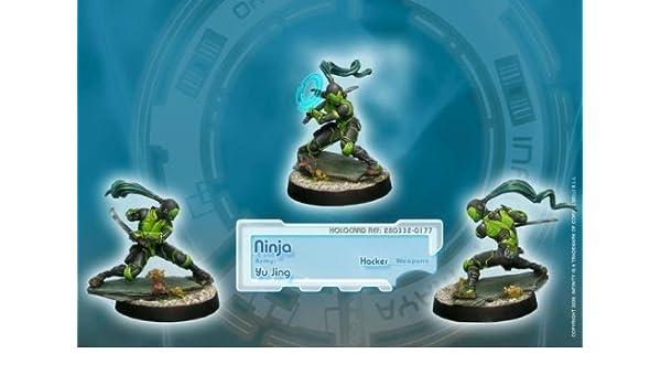 Infinity (#177) Yu Jing: Ninja (Hacker) (1) by Corvus Belli ...