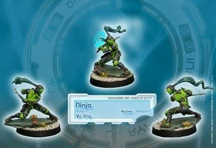 Infinity (#177) Yu Jing: Ninja (Hacker) (1)