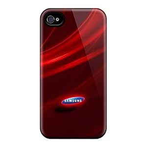 Hot CpCPXXx8324aDuBF Case Cover Protector For Iphone 4/4s- Red Screen by mcsharks