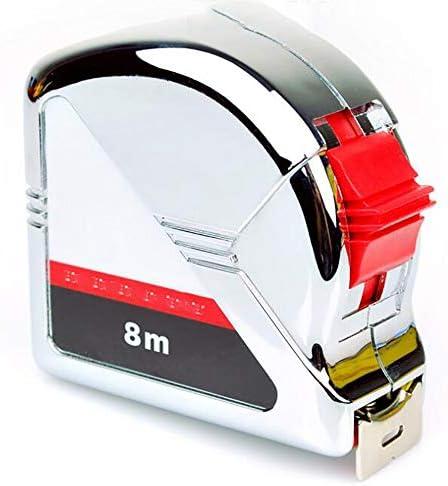 TongNS1 Flex/ómetro M/étrico,Cinta M/étrica,Acero Al Carbono Alta Resistencia,Compatible con Imperial Y M/étrico,Gadget Esencial para El Trabajo A Domicilio Y para Caja