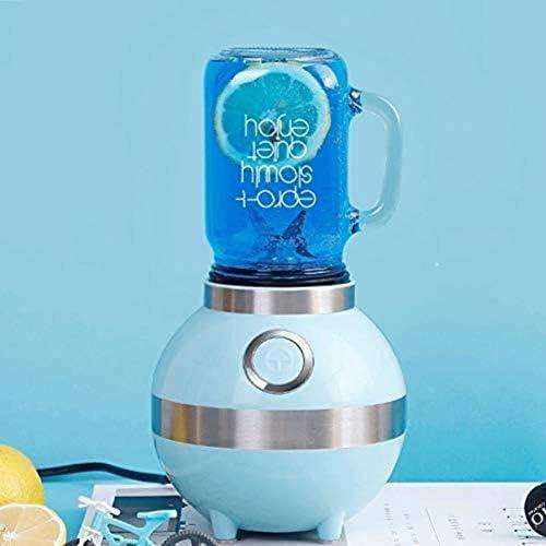 MISLD 400 ML Presse-Agrumes Fruits Jus De Légumes Extracteur Milkshake Ketchup Jam Mélangeur Glace, Noir, Royaume-uni 220 v,Blanc,états-Unis 220 v
