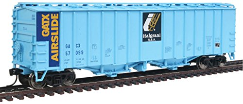 Airslide Covered Hopper 50 - Walthers HO Scale 50' 2-Bay Airslide Covered Hopper Italgrani GACX #57099