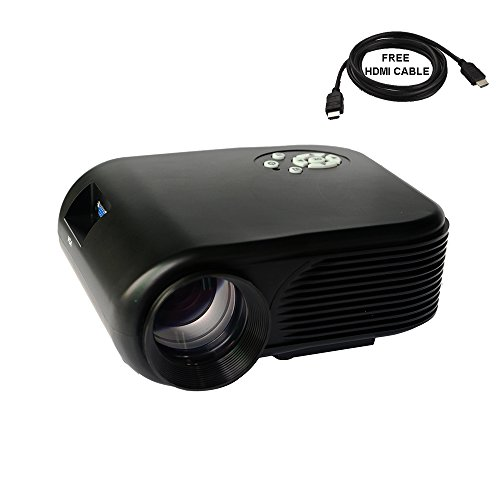 2018 projector warranty included xinda lcd led mini for Small portable video projectors