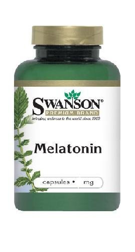 Amazon.com: Swanson Melatonin 1 mg 120 Caps by Swanson Premium Brand ...