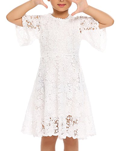 Balasha Flower Girls Lace Dress Country Dresses With -