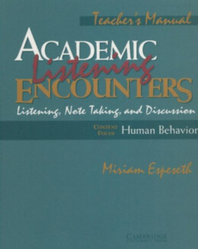 academic encounters reading study skills and writing