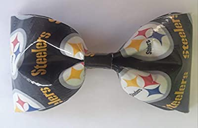 Pittsburgh Steelers NFL Duct Tape Bobby Pin Hair Bow or Bow Tie