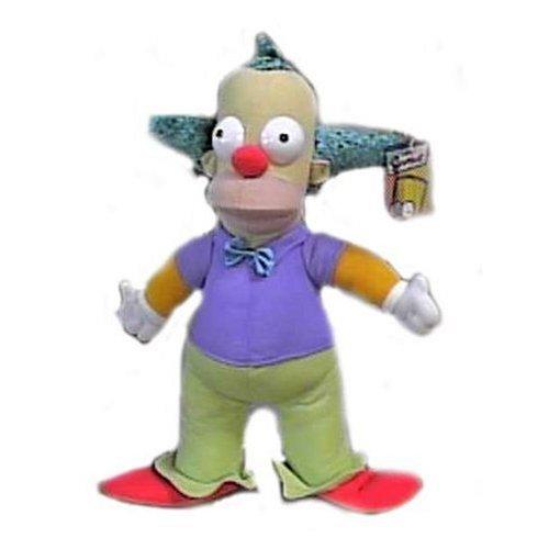 The Simpsons 14 Krusty the Clown Plush Doll Nanco