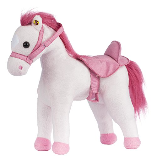 Rockin' Rider Deluxe Poseable Horse Plush - Sugar (Doll Suede Musical)