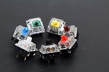 de4375cf719 5 pin 92pcs, Gateron mx Blue : Gateron mx switch 3 pin adn 5 pin ...