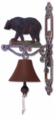 Sunset Vista Designs Wilderness Wonders Bear Bell, 14-Inch Tall (Bell Wilderness)