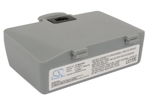 (2200mAh AT16004-1 Battery for ZEBRA QL220, QL220+ Mobile receipt and label Printer‎)
