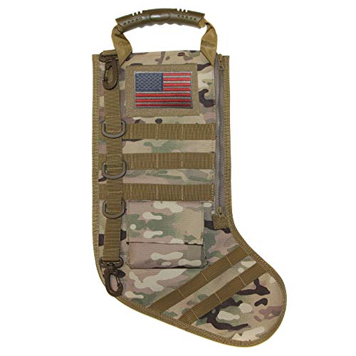 Garud Tactical Christmas Stocking with Molle Gear (Multicam)