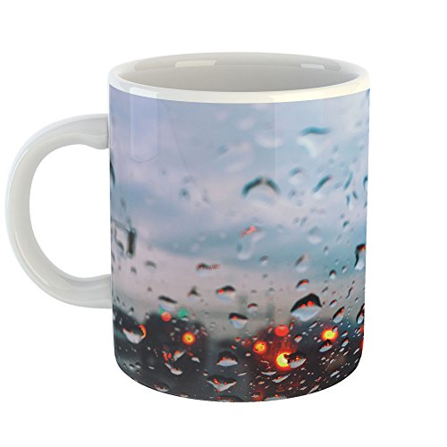 Westlake Art - Traffic Window - 11oz Coffee Cup Mug - Modern Picture Photography Artwork Home Office Birthday Gift - 11 Ounce (B2A5-1E123)