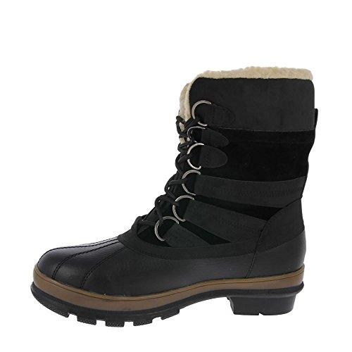 Negro Heavenly Feet Cañón Botas Negro De De YHfwxq1