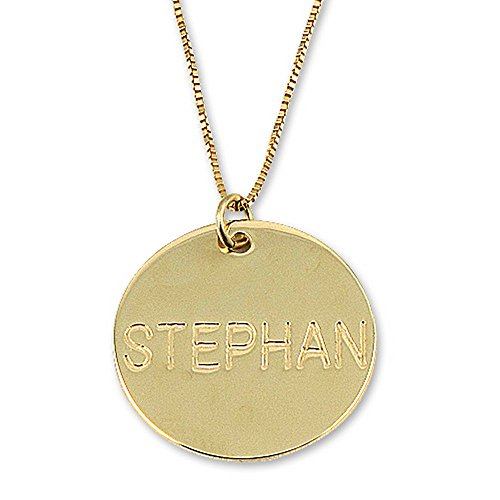 14k Gold Personalized Name Necklace - Custom Made Any Name