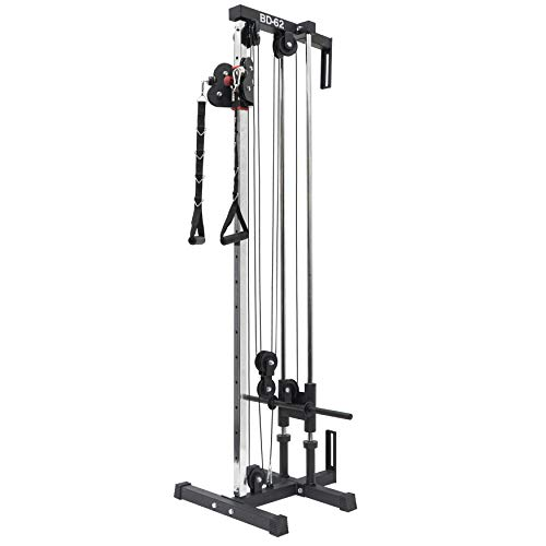 Valor Fitness BD-62 Wall Mount Cable Station with Adjustable Dual