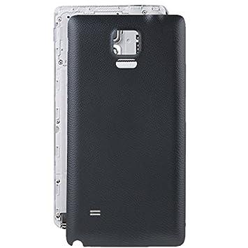 XHC Batería de Tapa Trasera Reemplazo de la Cubierta Posterior de la batería para Samsung Galaxy Note 4 / N910 (Color : Black)