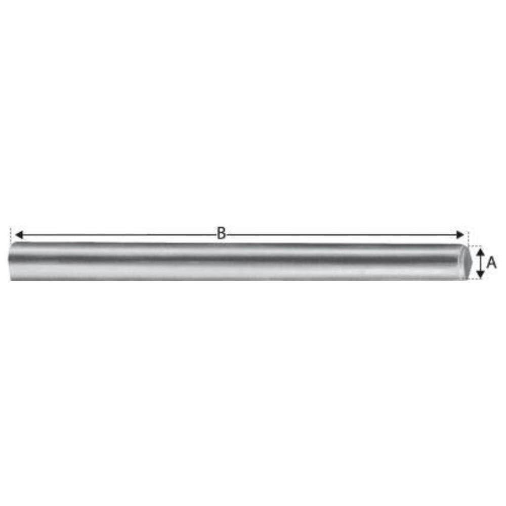 Long Broche pour etriers a ames interieures std-acier zingue bichromate mm.80 Simpson Type.STD 12//80 /Ø mm.12
