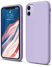 "elago Liquid Silicone Gel Rubber Shockproof Case Compatible with Apple iPhone 11 (6.1"") - Premium Silicone, Full Body Protection : 3 Layer Structure, Raised Lip for Screen & Camera"