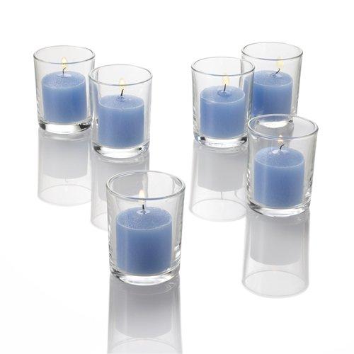Richland Votive Candles Blue Ocean Breeze Scented 10 Hour Burn Set of 72