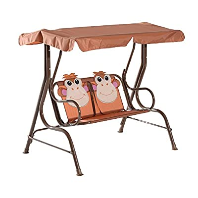 Kids Two Seater Swing Bench